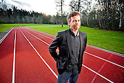 Mark Parker, President & CEO of Nike.  Photographed in December 2009 at Nike WHQ for the Sunday Times of London.