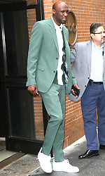 Lamar Odom at Good Morning America in New York City. 28 May 2019 Pictured: Lamar Odom. Photo credit: MEGA TheMegaAgency.com +1 888 505 6342