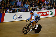 Men Scratch Race, DE VYLDER Lindsay, Belgium, during the UEC Track Cycling European Championships Glasgow 2018, at Sir Chris Hoy Velodrome, in Glasgow, Great Britain, Day 2, on August 3, 2018 - Photo Luca Bettini / BettiniPhoto / ProSportsImages / DPPI - Belgium out, Spain out, Italy out, Netherlands out -
