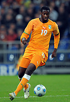 Fotball<br /> Tyskland v Elfenbenskysten<br /> Foto: Witters/Digitalsport<br /> NORWAY ONLY<br /> <br /> 18.11.2009<br /> <br /> Yaya Toure<br /> Fussball Elfenbeinkueste<br /> Fussball Testspiel Deutschland - Elfenbeinkueste 2:2