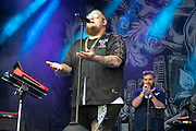 Rag'n'Bone Man performs on stage for On Blackheath festival at Blackheath Common on 14th July, 2019 in London, United Kingdom.