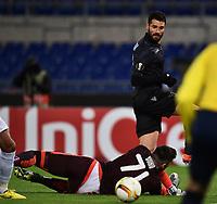 Gol Antonio Candreva Lazio Goal celebration <br /> Roma 26-11-2015 Stadio Olimpico Football Calcio 2015/2016 Europa League Lazio - Dnipro Foto Andrea Staccioli / Insidefoto