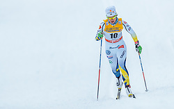 27.11.2016, Nordic Arena, Ruka, FIN, FIS Weltcup Langlauf, Nordic Opening, Kuusamo, Damen, im Bild Anna Haag (SWE) // Anna Haag of Sweden during the Ladies FIS Cross Country World Cup of the Nordic Opening at the Nordic Arena in Ruka, Finland on 2016/11/27. EXPA Pictures © 2016, PhotoCredit: EXPA/ JFK