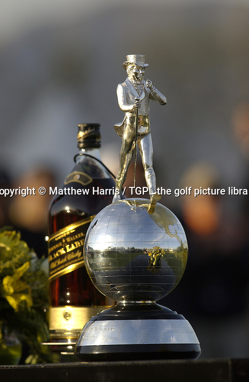 Trophy during fourth round Johnnie Walker Asian Classic 2005,Pine Valley Resort & Country Club,Beijing,China