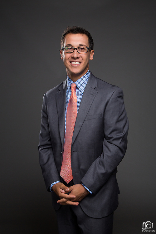 FOX Sports announcer Justin Kutcher poses for a portrait at Sharon Heights Golf & Country Club in Menlo Park, California, on May 4, 2015. (Stan Olszewski/SOSKIphoto for FOX Sports)