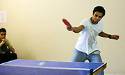 A student plays Table Tennis as part of the Chancellors Cup, Buckingham University. The University of Buckingham is unique. It is the only independent university in the UK with a Royal Charter, and probably the smallest with just around 1000 students. Honours degrees are achieved in two intensive years of study. The University campus is well known for being one of the most attractive locations in the region. The Great Ouse river, home to much wildlife, winds through the heart of our campus. Much of our teaching takes place in our restored buildings. Each student mixes with 89 other different nationalities and so being at Buckingham is just like being in a mini global village.