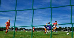 18-08-2012 VOETBAL: TRAINING WK JUNIOR CUP DIABETES: ARNHEM <br />Op Papendal werd de laatste training gehouden. De groep reist volgende week vrijdag af naar Geneve voor het WK.<br />©2012-FotoHoogendoorn.nl