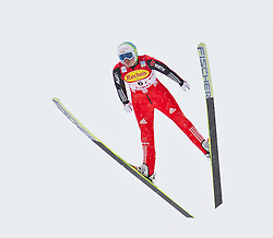16.12.2011, Casino Arena, Seefeld, AUT, FIS Nordische Kombination, Ski Springen Team HS 109, im Bild Fabian Riessle (GER) // Fabian Riessle of Germany during Ski jumping the team competition at FIS Nordic Combined World Cup in Sefeld, Austria on 20111211. EXPA Pictures © 2011, PhotoCredit: EXPA/ P.Rinderer