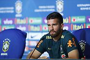 FOTBALL - FIFA WORLD CUP 2018 - BRAZIL PRESS CONFERENCE 120618