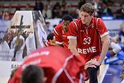 DESCRIZIONE : Eurolega Euroleague 2015/16 Group D Dinamo Banco di Sardegna Sassari - Brose Basket Bamberg<br /> GIOCATORE : Patrick Heckmann<br /> CATEGORIA : Stretching Before Pregame<br /> SQUADRA : Brose Basket Bamberg<br /> EVENTO : Eurolega Euroleague 2015/2016<br /> GARA : Dinamo Banco di Sardegna Sassari - Brose Basket Bamberg<br /> DATA : 13/11/2015<br /> SPORT : Pallacanestro <br /> AUTORE : Agenzia Ciamillo-Castoria/L.Canu