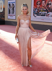 Once Upon A Time In Hollywood Premiere - Los Angeles. 22 Jul 2019 Pictured: Rebecca Gayheart. Photo credit: Jen Lowery / MEGA TheMegaAgency.com +1 888 505 6342