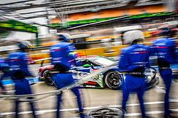 June 3, 2018 - Le Mans, FRANCE - 69 FORD CHIP GANASSI TEAM USA (USA) FORD GT GTE PRO RYAN BRISCOE (AUS) RICHARD WESTBROOK (GBR) SCOTT DIXON  (Credit Image: © Panoramic via ZUMA Press)