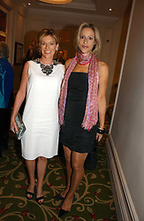 Left to right, News readers ANDREA CATHERWOOD and EMILY MAITLIS at the Costa Book Awards 2006 held at The Grosvenor House Hotel, Park Lane, London W1 on 7th February 2007.<br /><br />NON EXCLUSIVE - WORLD RIGHTS