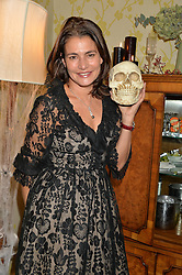 AVERYL OATES at the Bumpkin Halloween Dinner hosted by Marissa Hermer held at Bumpkin, 119 Sydney Street, London on 23rd October 2014.