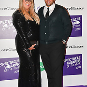 Gemma Collins and James Argent attend Spectacle Wearer of the Year 2018 at 8 Northumberland avenue, on 23 October 2018, London, UK.