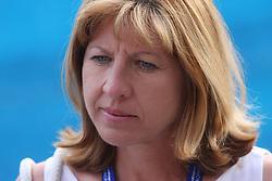 Mima Jausevec, ex tennis player, who won in 1977 the Grand Slam in France, at 2nd Round of Banka Koper Slovenia Open 2008, on July 23, 2008, Portoroz - Portorose, Slovenia. (Photo by Vid Ponikvar / Sportal Images)