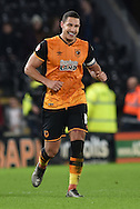 Jake Livermore of Hull City celebrates his goal scoring to go 2-1 up  during the Sky Bet Championship match between Hull City and Reading at the KC Stadium, Kingston upon Hull, England on 16 December 2015. Photo by Ian Lyall.