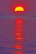 Sunset on Caraquet Bay, Caraquet, New Brunswick, Canada