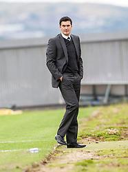 Dumbarton's player manager Ian Murray.<br /> Dumbarton 1 v 1 Falkirk, Scottish Championship 10/8/2013.<br /> ©Michael Schofield.