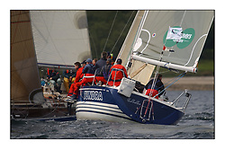 Yachting- The first days inshore racing  of the Bell Lawrie Scottish series 2002 at Tarbert Loch Fyne. Near perfect conditions saw over two hundred yachts compete. <br /><br />Tundra X332 GBR3072C in Class 3 <br />Pics Marc Turner / PFM
