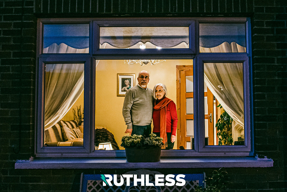 My parents, Tina and Moh. Photo by Ruth Medjber