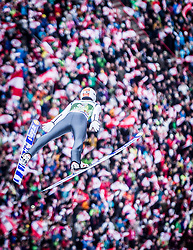 04.01.2014, Bergisel Schanze, Innsbruck, AUT, FIS Ski Sprung Weltcup, 62. Vierschanzentournee, Bewerb, im Bild Thomas Diethart (AUT) // Thomas Diethart (AUT) during Competition of 62nd Four Hills Tournament of FIS Ski Jumping World Cup at the Bergisel Schanze, Innsbruck, Austria on 2014/01/04. EXPA Pictures © 2014, PhotoCredit: EXPA/ JFK