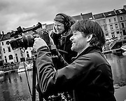 Gent, Belgium, 6 mai 2012, Christina Hermauer and Roman Keller. PHOTO © Christophe Vander Eecken