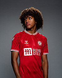 Han-Noah Massengo as Bristol City release their Home Shirt ahead of the 2020/21 Sky Bet Championship Season season - Rogan/JMP - 31/08/2020 - Ashton Gate Stadium - Bristol, England - Sky Bet Championship.