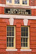 Hopkinton town offices, Hopkinton, Massachusetts