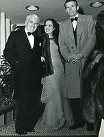 Sept 23, 1942 Charles Chaplin, Merle Obergon and Tim Durante at Ciro's Nightclub