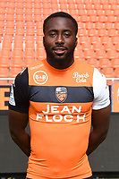Erwin Koffi during photoshooting of FC Lorient for new season 2017/2018 on September 12, 2017 in Lorient, France. (Photo by Philippe Le Brech/Icon Sport)
