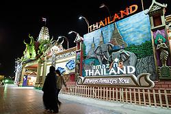 Thailand pavilion at Global Village tourist cultural attraction in Dubai United Arab Emirates