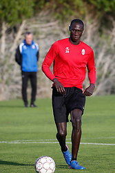 January 6, 2018 - Cadiz, SPAIN - Mouscron's Christophe Diedhiou pictured during the first day of the winter training camp of Belgian first division soccer team Royal Excel Mouscron, in Cadiz, Spain, Saturday 06 January 2018. BELGA PHOTO BRUNO FAHY (Credit Image: © Bruno Fahy/Belga via ZUMA Press)
