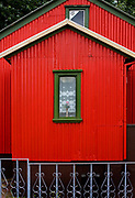 Early wooden house in the centre of Reykjavik.