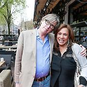 NLD/Amsterdam/20130503 - Boekpresentatie La Paay van Patricia Paay, schrijver Bert van der Veer en Patty Brard