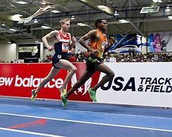 New Balance Indoor Grand Prix track meet: Men's 3000 meter, Gebrhiwet leads Rupp
