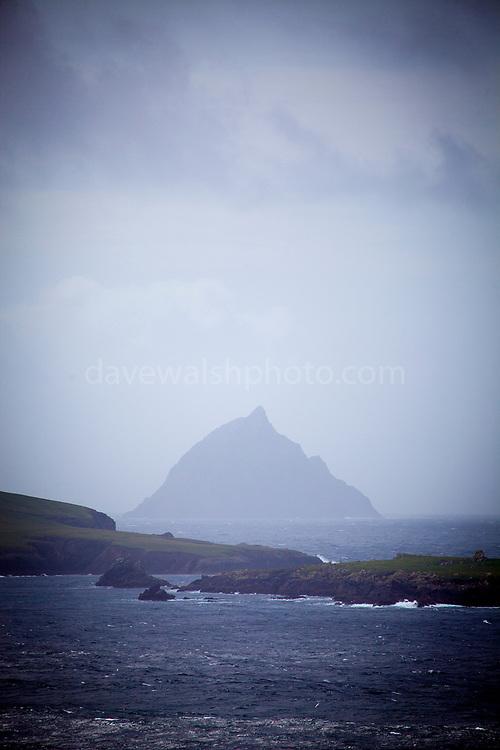Tearaght Island, home to an important seabird nature reserve, Blasket Islands, Co Kerry, Ireland
