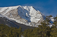 13,514 ft. Ypsilon Mountain of the Mummy Range at Rocky Mountain National Park, Colorado.