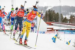 March 16, 2019 - –Stersund, Sweden - 190316 Linn Persson of Sweden competes in the Women's 4x6 km Relay during the IBU World Championships Biathlon on March 16, 2019 in Östersund..Photo: Johan Axelsson / BILDBYRÃ…N / Cop 245 (Credit Image: © Johan Axelsson/Bildbyran via ZUMA Press)