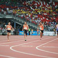 C Div Girls 100m