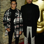 London, England, UK. 26th November 2017. Perri Kiely and Jordan Banjo attend the British Academy Children's Awards 2017 at the Roundhouse.