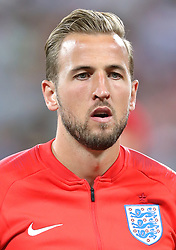 England's Harry Kane prior to kick-off during the FIFA World Cup Group G match at The Volgograd Arena, Volgograd.
