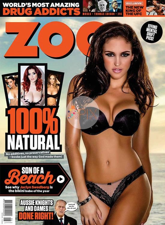 Jaclyn Swedberg for ZOO WEEKLY Australia :: 9 February 2015 cover/feature