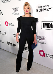 Madchen Amick attending the Elton John AIDS Foundation Viewing Party held at West Hollywood Park, Los Angeles, California, USA.