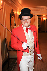 ALAN CARR at the Fantasy Ball in aid if children's cancer charity CLIC Sargent held at The Dorchester, Park Lane, London on 11th November 2010.