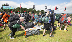 The first campers arrive at T in the Park 2016.