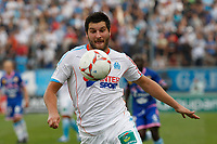 FOOTBALL - FRENCH CHAMPIONSHIP 2012/2013 - L1 - OLYMPIQUE MARSEILLE v EVIAN TG - 23/09/2012 - PHOTO PHILIPPE LAURENSON / DPPI - ANDRE-PIERRE GIGNAC (OM)