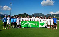 Fotball<br /> Treningsleir FC Anzhi Makhachkala<br /> Irdning Østerrike<br /> 02.07.2013<br /> Foto: Gepa/Digitalsport<br /> NORWAY ONLY<br /> <br /> Premjer-Liga, Anschi Machatschkala, IFCS Trainingslager. <br /> <br /> Bild zeigt die Mannschaft von Machatschkala.