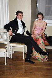 MAXIMILIAN HARDY and FLORENCE WALKER at the 13th annual Russian Summer Ball held at the Banqueting House, Whitehall, London on 14th June 2008.<br /><br />NON EXCLUSIVE - WORLD RIGHTS