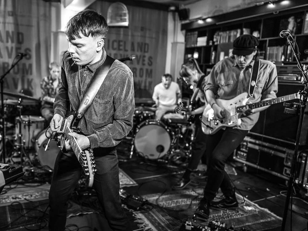 Finnish indie-rock band The Holy at Iceland Airwaves